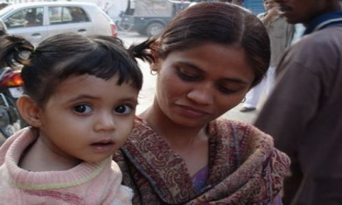 Zdjecie INDIE / brak / Delhi / Świat bez dziecka byłby moim nieszczęściem