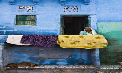 Zdjęcie INDIE / Rajasthan / Jodhpur / Kobieta