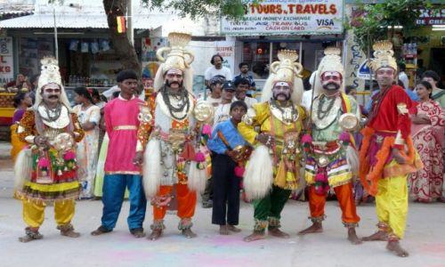 Zdjecie INDIE / Indie poludniowe / Indie południowe / Uliczni muzykan