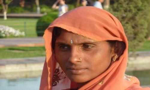 Zdjęcie INDIE / Agra / Taj Mahal / Portret Hinduski