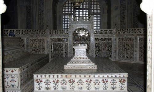 Zdjęcie INDIE / Uttar Pradesh / Agra / Tadż Mahal -  cenotaf Mumtaz Mahal