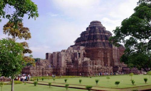 Zdjęcie INDIE / Orisa / Konarak / Konarak - Świątynia Surji