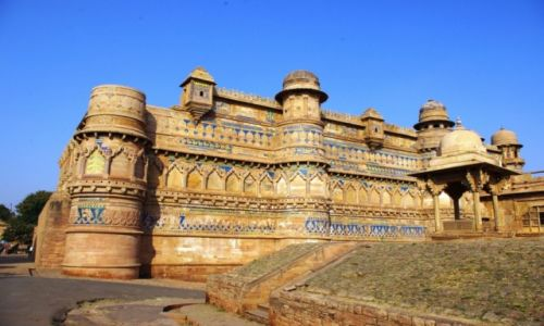 Zdjęcie INDIE / Madhya Pradesh / Gwalior / Gwalior Fort