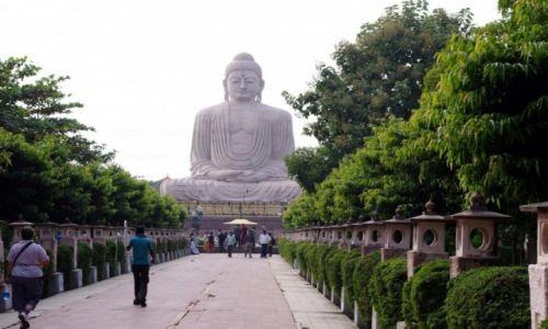 Zdjęcie INDIE / Bihar / Bodh Gaya / Bodh Gaya -   Wielki Posąg Buddy