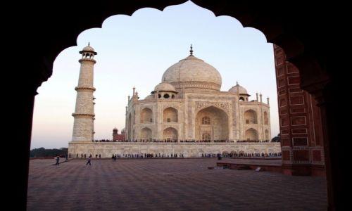 Zdjęcie INDIE / Uttar Pradesh / Agra / Taj Mahal   Agra