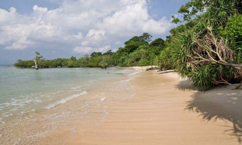 Zdjecie INDIE / Andamany / Wyspa Neil / Enjoy the silence
