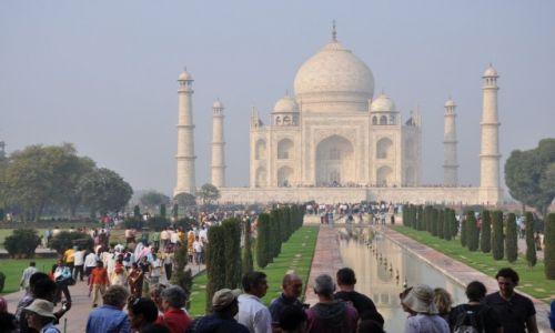 Zdjęcie INDIE / Agra / agra / Taj Mahal