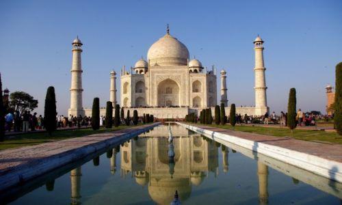 Zdjecie INDIE / Uttar Pradesh / Agra / Taj Mahal
