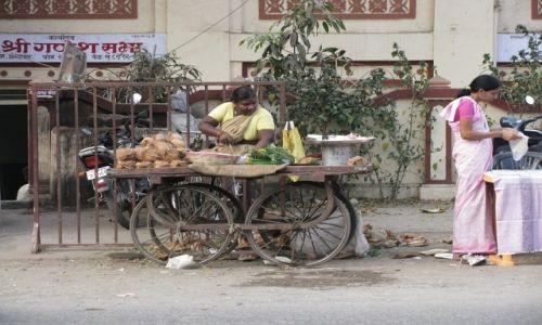 Zdjecie INDIE / stan Maharashtra / Aurangabad / scenki uliczne