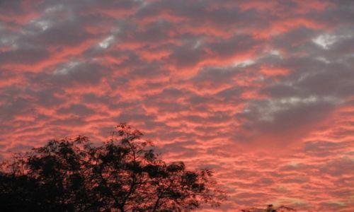 Zdjęcie INDIE / stan Maharashtra / Aurangabad / zachód słońca nad Aurangabadem