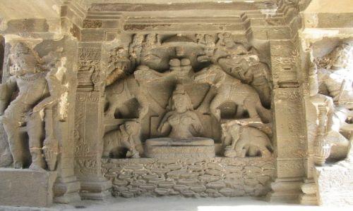Zdjęcie INDIE / stan Maharashtra / Ellora / Kailas Temple
