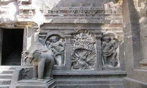 Zdjęcie INDIE / stan Maharashtra / Ellora / Kailasa Temple