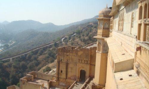 Zdjęcie INDIE / Radżastan / Dźajpur / Fort Amber