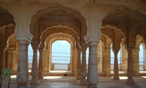 Zdjecie INDIE / Radżastan / Dźajpur / Fort Amber