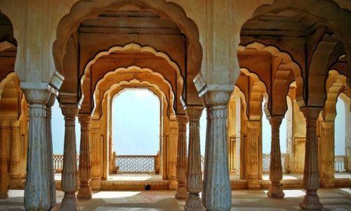 INDIE / Radżastan / Dźajpur / Fort Amber-Bez sznurków:)))