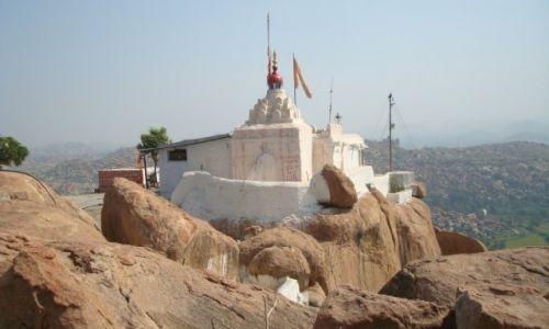 Zdjęcie INDIE / Karnataka / Hampi / Świątynia Hanumana
