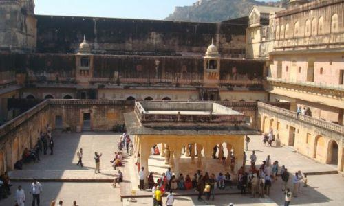 Zdjęcie INDIE / Radżastan / Dźajpur / Zatłoczony Fort Amber:)