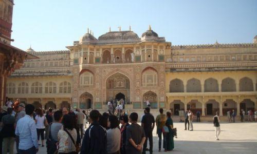 Zdjęcie INDIE / Radżastan / Dźajpur / Zatłoczony Fort Amber:)2