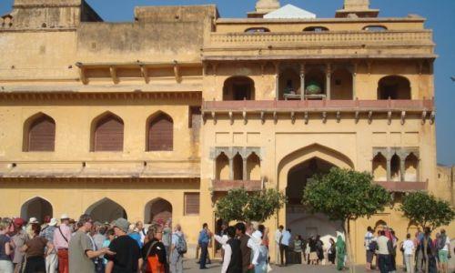 Zdjęcie INDIE / Radżastan / Dźajpur / Zatłoczony Fort Amber:)3