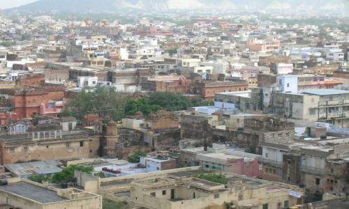 Zdjecie INDIE / Rajasthan / Jaipur / widok na Jaipur