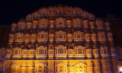 Zdjęcie INDIE / Radżastan / Jaipur / Hawa Mahal - Pałac Wiatrów