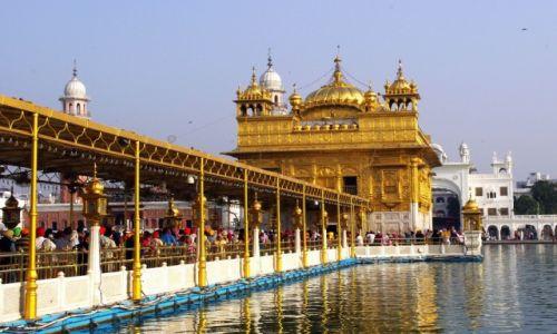 Zdjęcie INDIE / Pendżab / Amritsar / Golden Temple