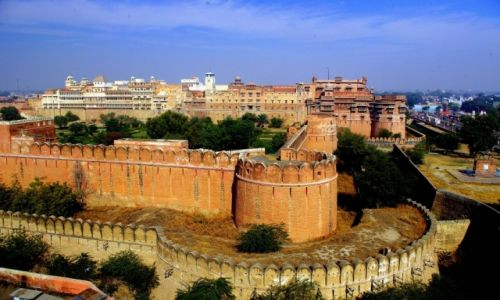 Zdjęcie INDIE / Radżastan / Bikaner / Junagarh Fort