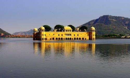 Zdjecie INDIE / Radżastan / Jaipur / Jal Mahal - Pałac na wodzie
