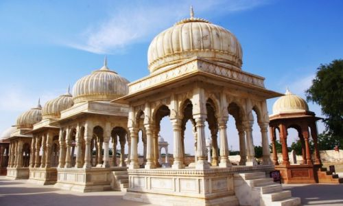 Zdjęcie INDIE / Rajastan / Bikaner / Royal Cenotaphs   Bikaner
