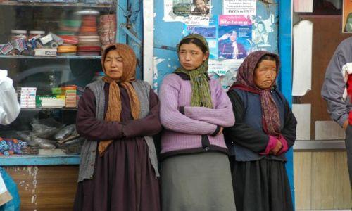 INDIE / Ladakh / Leh / Kobiety w Leh
