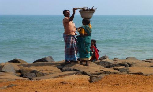 Zdjecie INDIE / Andhra Pradesh / Puducherry / indyjskie plaże