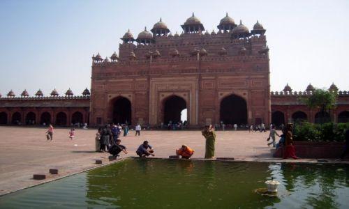 Zdjęcie INDIE / Uttar Pradesh / Fathepur Sikri / Echo potęgi