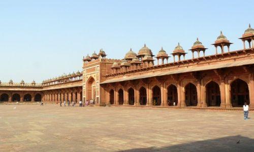 Zdjęcie INDIE / Uttar Pradesh / Fatehpur Sikri / Wysuszone miasto
