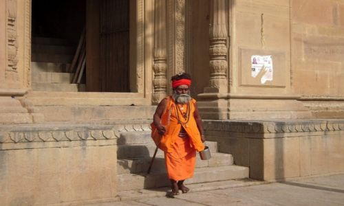 Zdjęcie INDIE / Uttar Pradesh / Waranasi / Sadhu