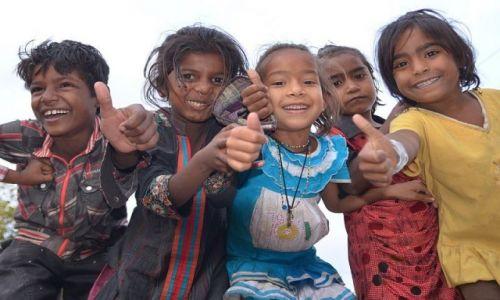 Zdjecie INDIE / Rajasthan / Jodhpur / radość ...
