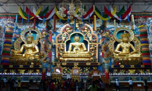 Zdjęcie INDIE / Karnataka / Namdroling / W Złotym Klasztorze