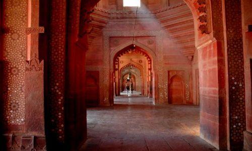 Zdjecie INDIE / Uttar Pradesh / Fatehpur Sikri / promyk