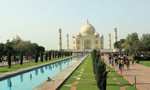 Zdjęcie INDIE / - / Agra / Tadż Mahal