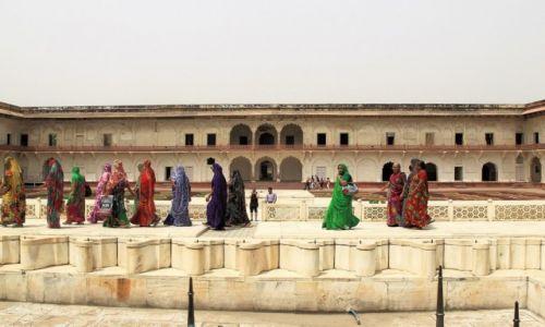 Zdjęcie INDIE / - / Agra / Fort Agra