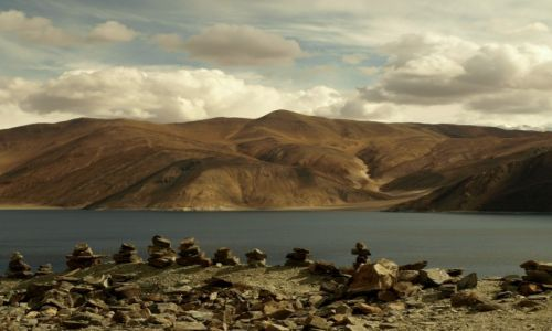 Zdjęcie INDIE / Jammu i Kashmir / Ladakh,  / Pangong Tso