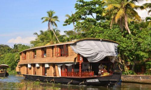 Zdjęcie INDIE / Kerala / Alappuzha / Houseboat