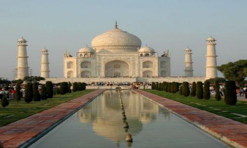 Zdjęcie INDIE / Uttar Pradesh-Agra / Taj Mahal / zwykłe ujęcie