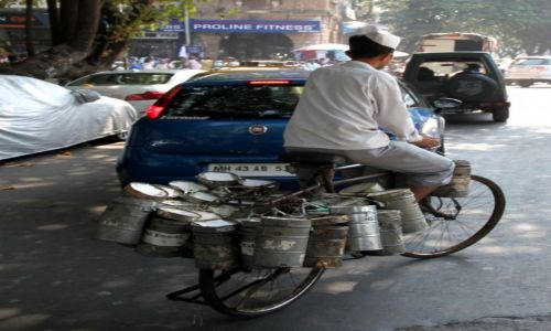 Zdjęcie INDIE / Maharasztra / Bombaj / Food bike