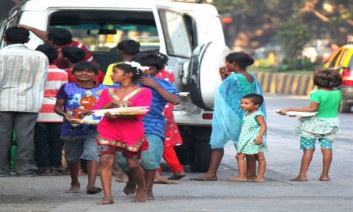 Zdjęcie INDIE / Maharasztra / Bombaj / Dzieci