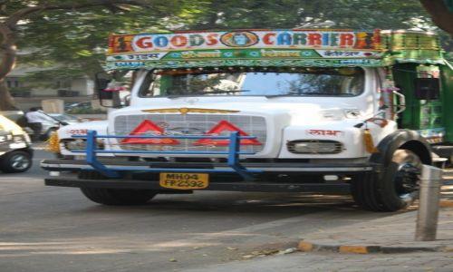 Zdjęcie INDIE / Maharasztra / Bombaj / Ciężarówka