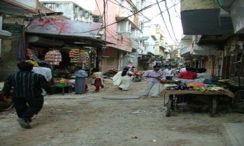 Zdjecie INDIE / brak / Delhi / uliczka na Paha
