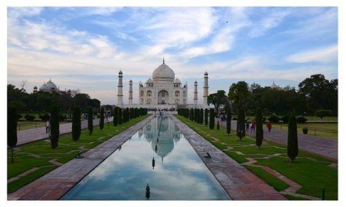 Zdjęcie INDIE / Radżastan  / Agra / Taj Mahal