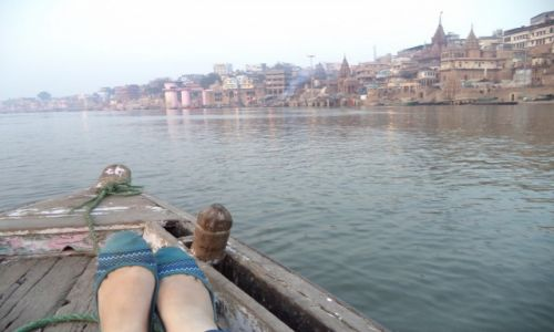 Zdjęcie INDIE / Uttar Pradesh / Waranasi / Ganges
