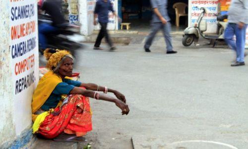 Zdjecie INDIE / Rajasthan / Jodhpur / miejska nomadka