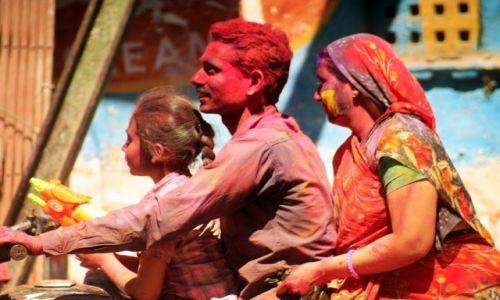 Zdjecie INDIE / Rajasthan / Udaipur / radość wspólnej